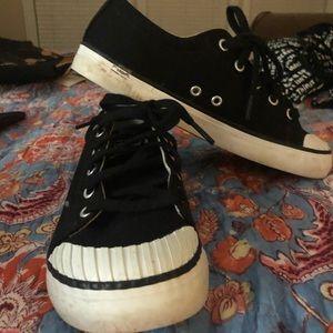 Black Merrill Sneakers